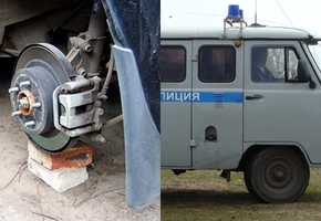 Милицейская сводка по региону: снятые колёса, переломанные рёбра, смертельный наезд и удар током в душе, странная кража