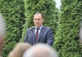 Премьер-министр Головченко посетил стеклозавод «Неман» в Берёзовке