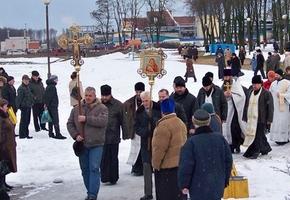 19 января на Лидском озере состоится молебен и будет подготовлена купальня