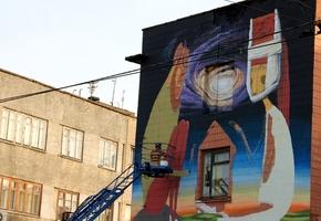 В Минске недалеко от граффити с Чапским появится еще одна работа от художников из Лиды