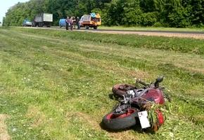 Под Вороново парень на Kawasaki врезался в трактор и погиб
