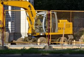 В мкр. Индустриальный строители возводят новый детский сад с бассейном за 7 млн. рублей