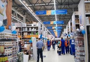 В Лиде на ул. Красноармейской закрылся магазин ОМА