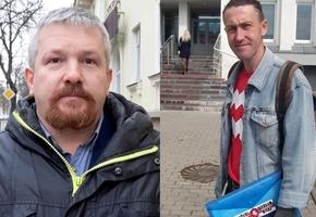 Суды в Лиде закончились арестами активистов Минца и Ашурка