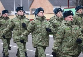 В Лидский погранотряд для прохождения службы прибыло 134 новобранца