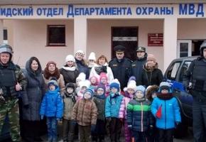 В Лидском отделе Департамента охраны прошёл «День открытых дверей»