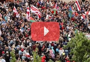 В Лиде прошёл митинг в поддержу Тихановской