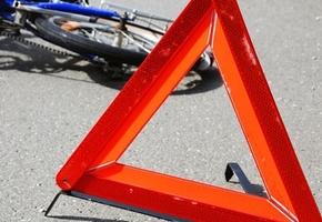 Велосипедист попал под колёса микроавтобуса в Лидском районе