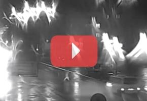 Появилось видео ДТП на Советской с камеры наблюдения