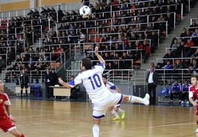 В Лиде сборная Беларуси по мини-футболу разгромила сборную Армении в товарищеском матче