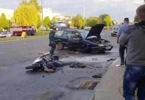 На ул. Качана в ДТП погиб мотоциклист