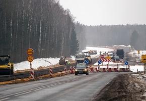 Минтранс собирается закончить реконструкцию М6 на год раньше запланированного