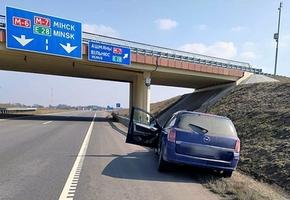 На трассе М6 водитель напоролся на ограждение, мужчина в реанимации