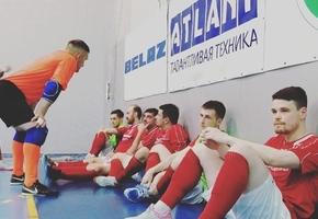 Мини-футбол, плей-офф, третий матч 1/8 финала. «Динамо-БНТУ» — «Лида» 3:0
