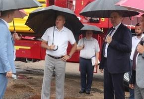 Лиду посетили инспектор по Гродненской области Юрий Караев и председатель облисполкома Владимир Караник