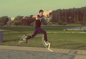 Лидчанин Павел о своём необычном спортивном тренажёре