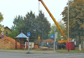 В Лиде реализовываются два проекта по реконструкции и строительству систем водоотведения города