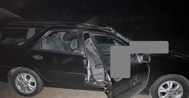 Ночью на дороге «Лида – Радунь» Renault наехал на пешехода. Мужчина скончался на месте ДТП