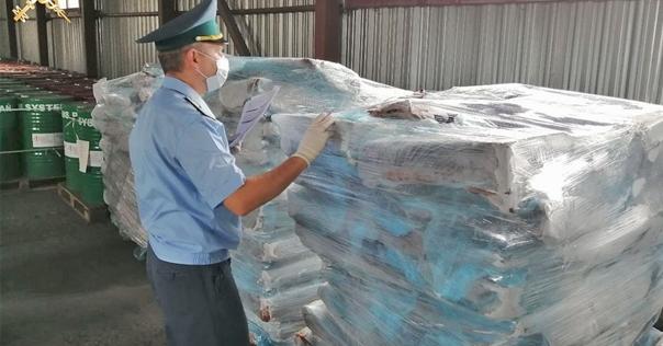 В п/п «Бенякони» задержана партия замороженного мяса  с поддельными документами