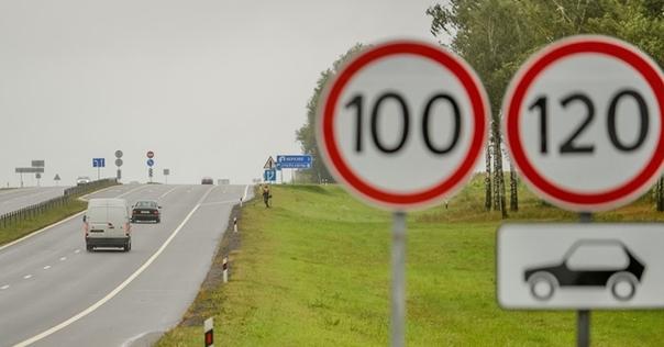 На большом участке трассы М6 повысят скоростной режим до 120 км/ч