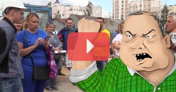 В Слониме на строителей Лидской ПМК-169 «наехали» будущие жильцы многоэтажки