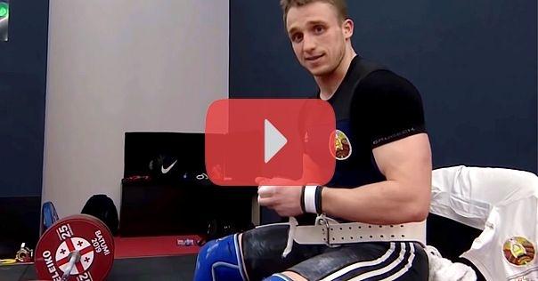 Посмотрите как лидчанин Вадим Лихорад поднимал штанги на ЧЕ по тяжёлой атлетике. Он завоевал бронзу
