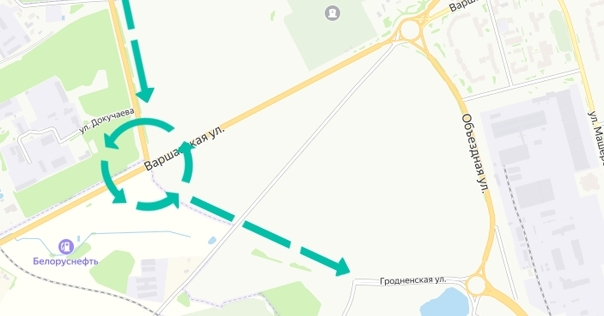 Как будет выглядеть объездная дорога в мкр. Слобода, про которую говорил гендиректор «Гродноавтодор»