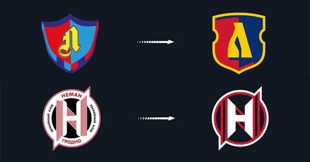 Стали похожими на NHL-овские. В белорусской экстралиге у всех хоккейных клубов сменились логотипы