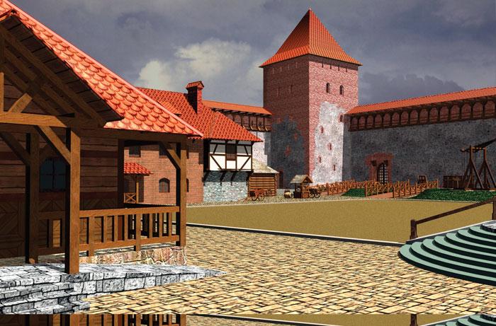 фото лидского замка